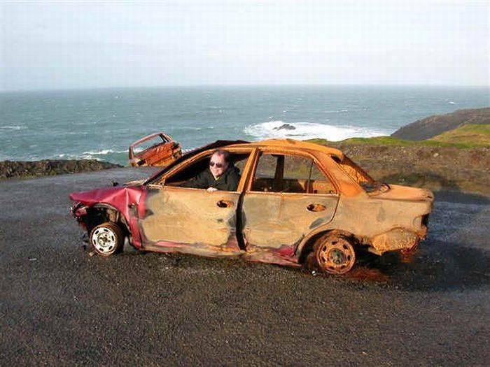 Фотопоборка веселых и прикольнх картинок на тему авто