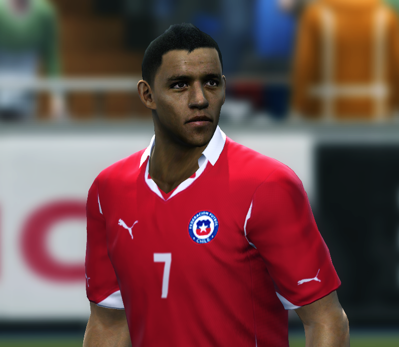 Face alexis sanchez (Pes 2011) Posted by christian_chile Mj477zya