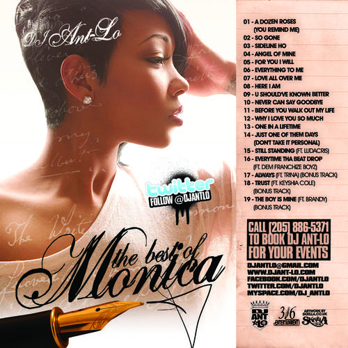 DJ Ant-Lo - The Best of Monica [2011]