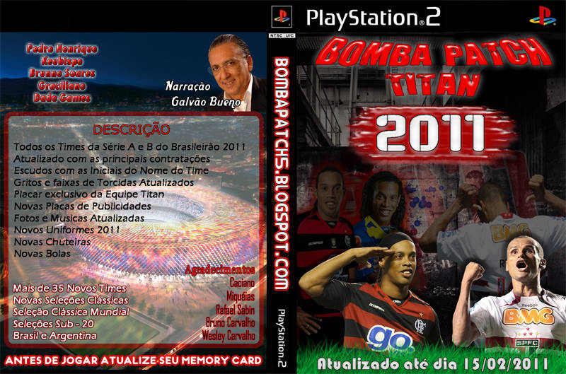 pes 2011 Bomba Patch Titan 2011