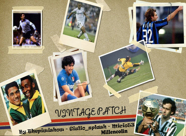 Vintage Patch 2.0 PES 2011 by Thepiwishow