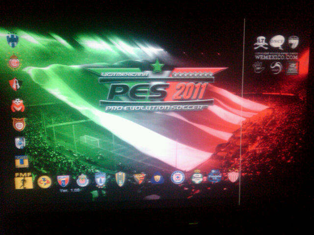 PES 2011 WEMEXICO TEAM PATCH
