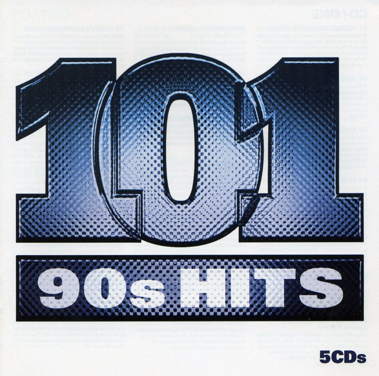 Va - 101 90s Hits (5 CD)