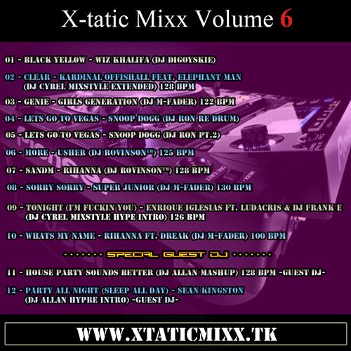 X-tatic Mixx Volume 6
